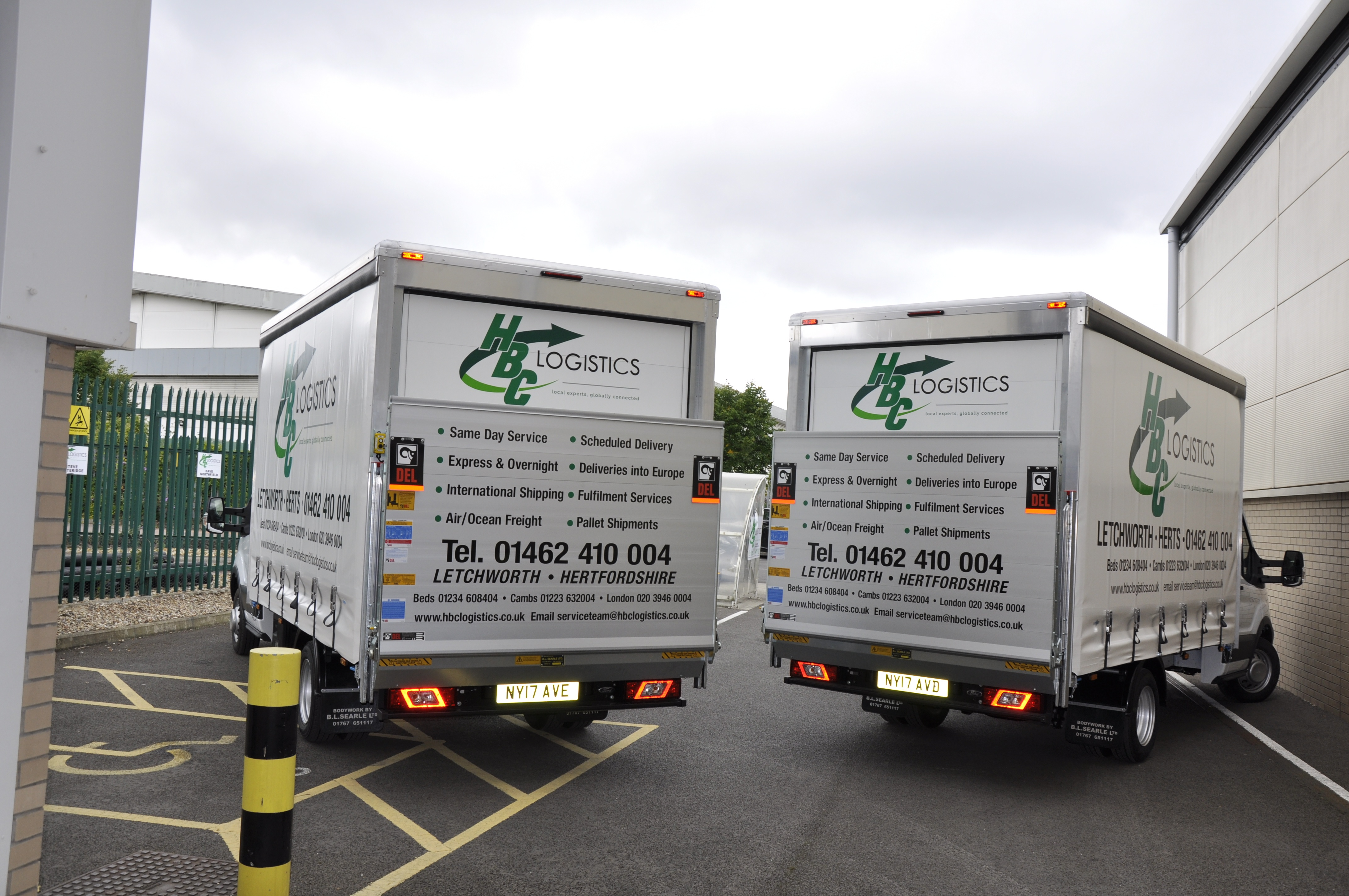 Same Day Courier Service | Fast & Reliable | HBC Logistics