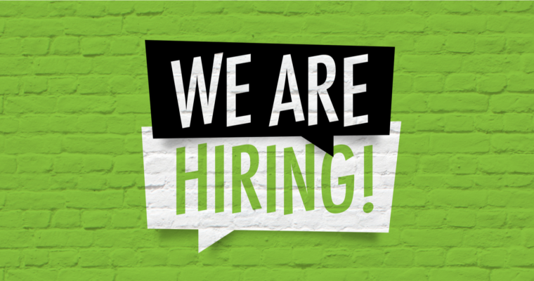 *WE ARE HIRING*